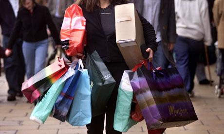 A-woman-shopping